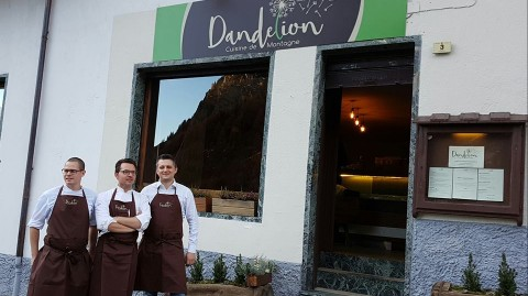 Dandelion restaurant Courmayeur