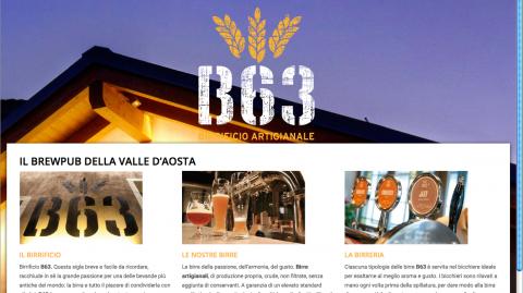 il nuovo sito di B63 è on line