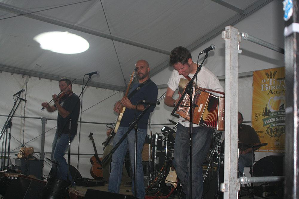 Aostafest 2011. L'Orage in concerto