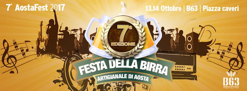 Settima edizione aostafest 2017 - La festa della birra artigianale di Aosta