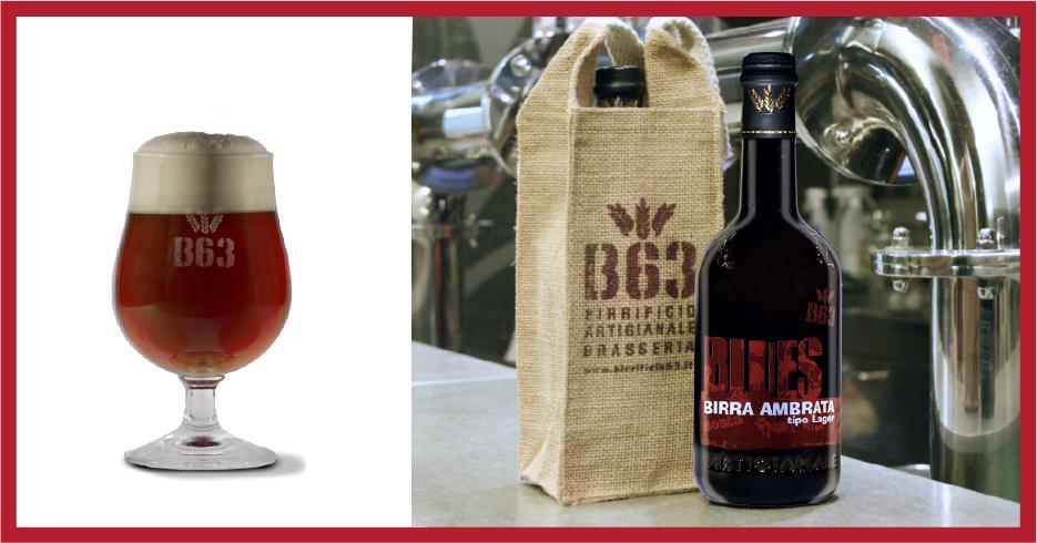Birra Artigianale B63 Blues