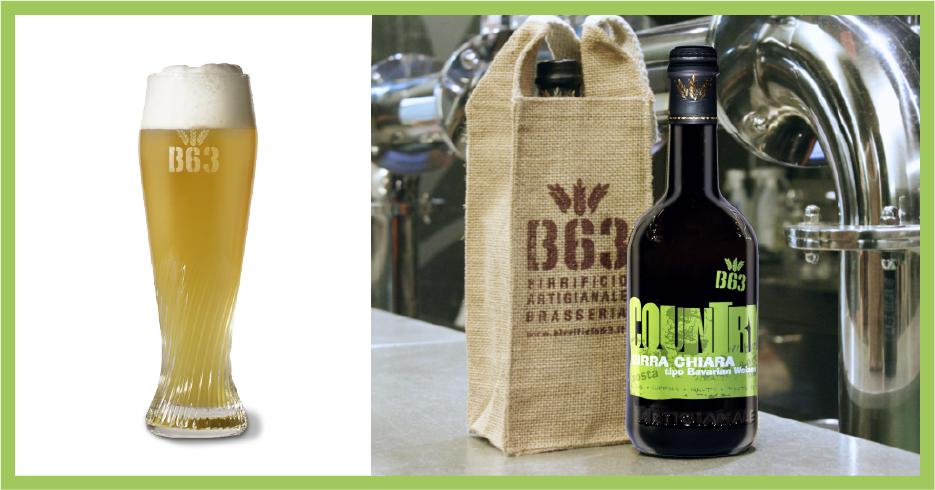 Birre artigianali B63. La COUNTRY