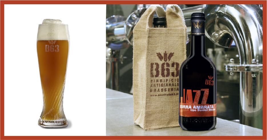 Birre artigianali B63. La JAZZ