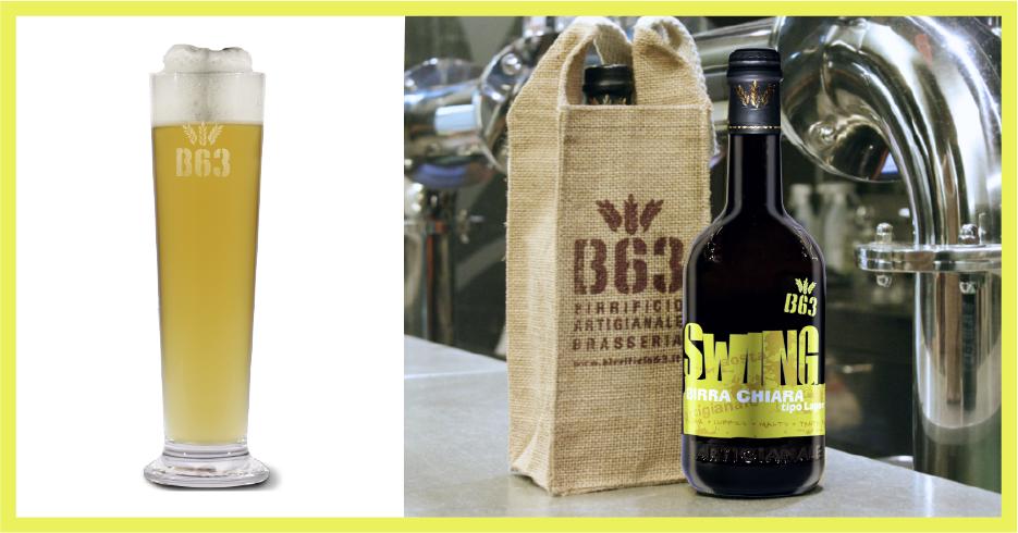 Birre artigianali B63. La SWING