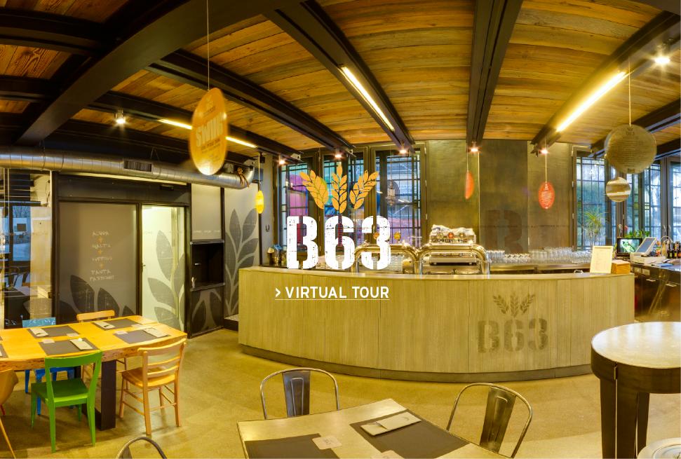 Birrificio artigianale B63 Virtual Tour