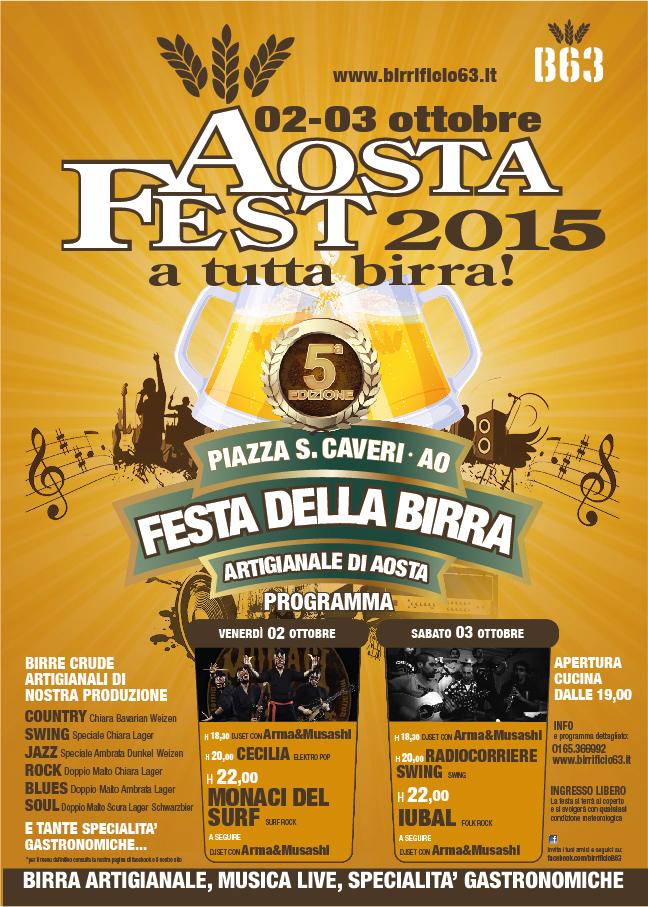 programma Aostafest 2015
